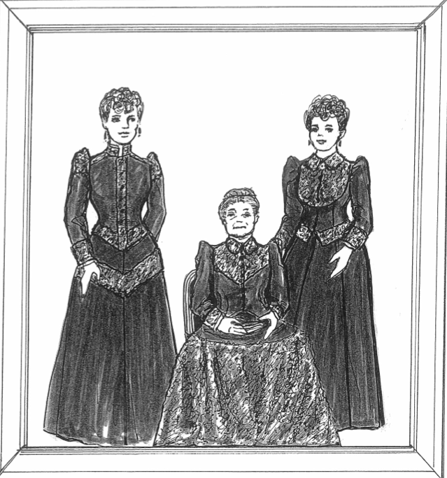 "Mourning fashions from ""Out-of-Style"""
